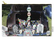 Day Of The Dead Classic Car Trunk Display  Carry-all Pouch