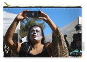 Day Of The Dead Iphone Woman Carry-all Pouch
