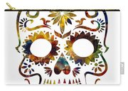 Day Of The Dead Carry-all Pouch by Michael Colgate