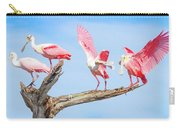 Day Of The Spoonbill  Carry-all Pouch