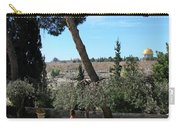 Day Walk In Jerusalem Carry-all Pouch