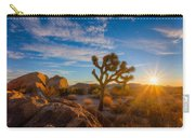 Daybreak At Joshua Carry-all Pouch