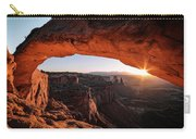 Daybreak At Mesa Arch Carry-all Pouch
