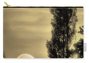 Daybreak On A Country Road Carry-all Pouch