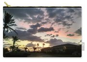 Daybreak Sky In Florida Carry-all Pouch