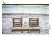 Daydreaming By The Sea In Watercolors Carry-all Pouch