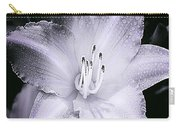 Daylily Flower With A Tint Of Purple Carry-all Pouch