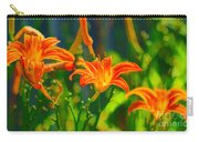 Daylily Trio Carry-all Pouch