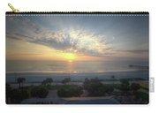 Daytona Beach Sunrise Carry-all Pouch