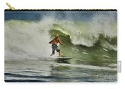 Daytona Beach Surfing Day Carry-all Pouch