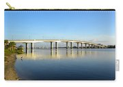 Daytona Beach's Broadway Bridge  Carry-all Pouch