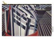 Dazzle Ships In Drydock At Liverpool Carry-all Pouch