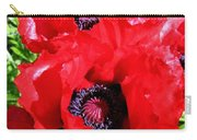 Dazzling Red Poppies Carry-all Pouch