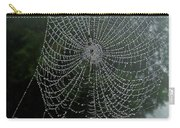 Db6325-dc Spiderweb On Sonoma Mountain Carry-all Pouch