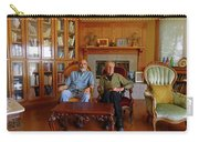 Db6362 Ed Cooper With Fred Beckey In Library 2013 Carry-all Pouch