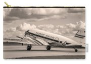 Dc-3 Vintage Look Carry-all Pouch