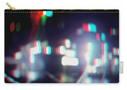 Dc Lights - Use Red-cyan 3d Glasses Carry-all Pouch