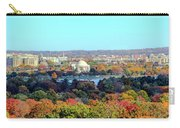Dc Skyline With Jefferson Memorial Carry-all Pouch