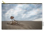 Dead Bush In Sea Sand St Lucia Carry-all Pouch