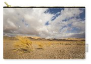 Dead Dry Grass In The Desert Carry-all Pouch