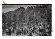Dead Lakes Cypress Stumps Bw  Carry-all Pouch