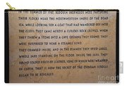 Dead Sea Scroll Document Carry-all Pouch