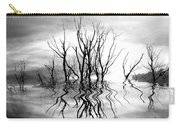 Dead Trees Bw Carry-all Pouch