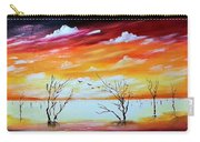 Dead Trees Reflection Carry-all Pouch