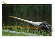 Deadwood And Pine Reflections Carry-all Pouch