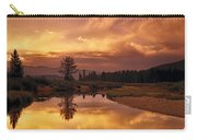 Deadwood River Sunrise Carry-all Pouch