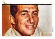 Dean Martin, Hollywood Legend By John Springfield Carry-all Pouch