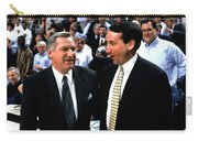Dean Smith And Mike Krzyzewski Carry-all Pouch