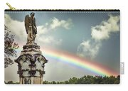Death And A Rainbow Carry-all Pouch