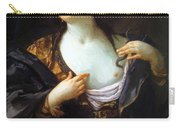 Death Of Cleopatra 1598 Carry-all Pouch