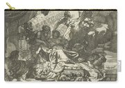 Death Of Dido, Gerard De Lairesse, 1668 Carry-all Pouch