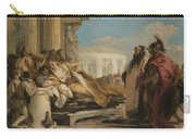 Death Of Dido Carry-all Pouch