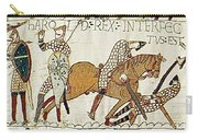 Death Of Harold, Bayeux Tapestry Carry-all Pouch
