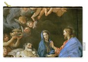 Death Of Saint Joseph Carry-all Pouch