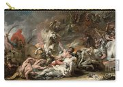 Death On The Pale Horse Carry-all Pouch
