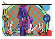 Death Takes His Bunny Friends To The Circus Carry-all Pouch