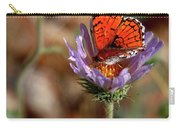 Death Valley Butterfly Carry-all Pouch