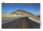 Death Valley Road Through The Badlands Carry-all Pouch
