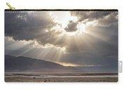 Death Valley Sun Burst Carry-all Pouch