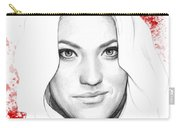 Debra Morgan Portrait - Dexter Carry-all Pouch by Olga Shvartsur