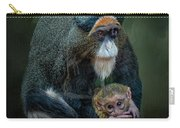 Debrazza's Monkey And Baby Carry-all Pouch