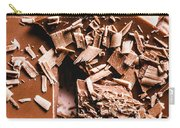 Decadent Chocolate Background Texture Carry-all Pouch