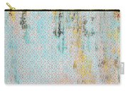 Decadent Urban Light Colored Patterned Abstract Design Carry-all Pouch