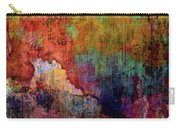 Decadent Urban Red Wall Grunge Abstract Carry-all Pouch