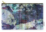Decadent Urban White Splashed Bricks Grunge Abstract Carry-all Pouch