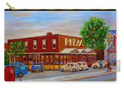 Decarie  Tasty  Food  Pizza Carry-all Pouch
